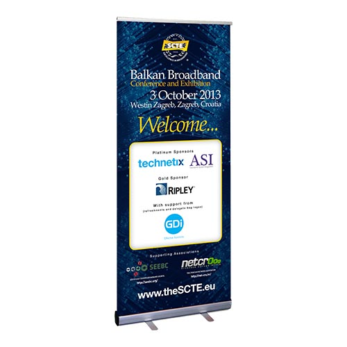 Roller Banners Printing Services in UK