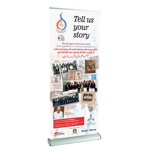 Roller Banners Printing in UK