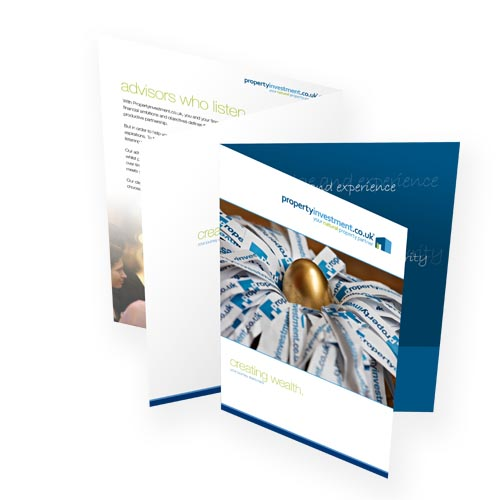 Presentation Folders Printing Services in UK