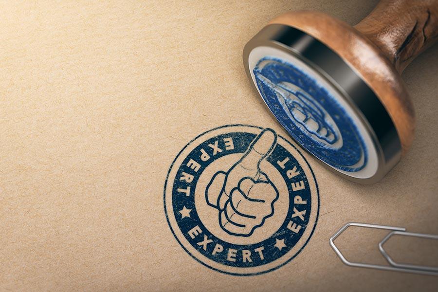 Expert ink Stamp